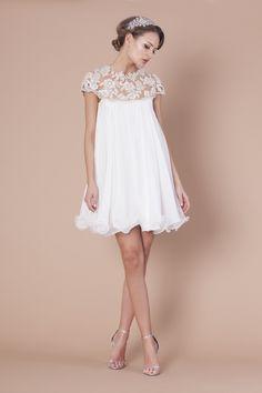 Robe de mariée courte vintage                                                                                                                                                                                 Plus