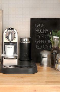 Coffeecorner at home