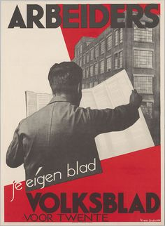 Louis Frank. Workers, your own newspaper! 1931 by kitchener.lord, via Flickr