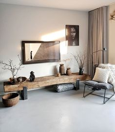 Loft Inspiration // Loft Interior The Perfect Scandinavian Style Home Homedecor.laviye – Home Decor ideas Boho Living Room, Home And Living, Living Room Decor, Wall Clock In Living Room, Living Room And Bedroom In One, Nordic Living Room, Modern Living, Scandinavian Style Home, Scandinavian Living