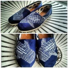 Whale Shark Painted Toms!!<3