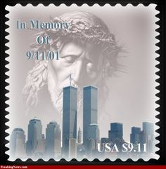 9/11 postage stamp