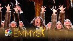Weird Al doing his thing at the Emmys last night.