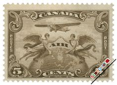mail stamp | stamps of CANADA (Air Mail Stamps all the period Page.1, 25rows per ...