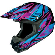HJC #Fulcrum Women's CL-X6 Off-Road/Dirt Bike Motorcycle Helmet - MC-8 / Small