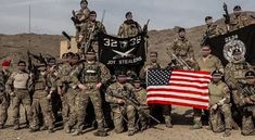 """United States SOF/SF's Instagram photo: """"Green Berets of ODAs 3235 and 3236 (3rd Special Forces Group) and an Air Force Combat Controller (first on left), in Afghanistan"""" 3rd Special Forces Group, Army Green Beret, Us Military, Happy Independence Day, Afghanistan, Air Force, Monster Trucks, United States, The Unit"""