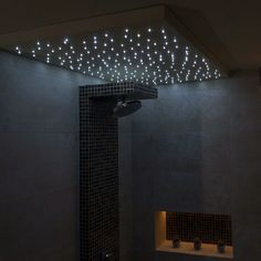 Bath and bask in a decant glow with the top 50 best shower lighting ideas. Explore unique illumination designs for your master bathroom. Bathroom Ceiling Light, Bathroom Wall, Small Bathroom, Bathroom Ideas, Attic Bathroom, Bathroom Inspo, Grey Bathrooms, Bathroom Layout, Bathroom Designs