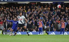 Chelsea vs Tottenham: Eden Hazard brilliant late equaliser...: Chelsea vs Tottenham:… #ChelseavsBournemouth #ChelseavsTottenham #Chelsea