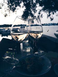 Little Luxe Book: Milos, Greece - Travel Trends Cheers, Wine Pics, Wine Photography, Fancy Drinks, Wine Drinks, Instagram Story Ideas, Fine Wine, Greece Travel, Summer Vibes