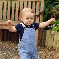 Prince George la foto ufficiale del primo anno
