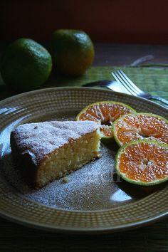 Orange-Ricotta Cake