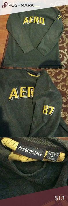 Mens Aero Swestshirt Pretty new...my son wore maybe twice...no flaws/pets/smoke! Ships immediately! Aeropostale Shirts Sweatshirts & Hoodies