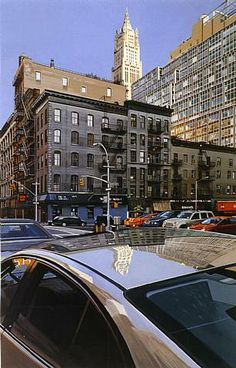 Woolworth Building. Richard Estes.2003