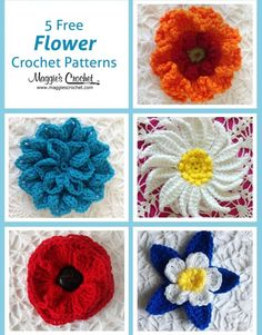 Free Crochet Pattern For Iris Flower : Dutch Iris Free Crochet Pattern from Maggies Crochet ...