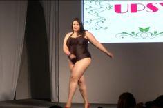 Un desfile sin complejos en La semana de la moda de tallas grandes en Sao Paulo (Video)