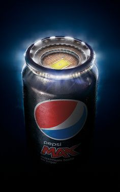 Advertiser: PepsiCo, Inc. Brand name: Pepsi Product: Pepsi Max Agency: AMV BBDO London Country: United Kingdom Category: Soft Drinks Released: November 2015 Ads Creative, Creative Posters, Creative Advertising, Advertising Design, Creative Design, Advertising Ideas, Creative Photoshop, Advertising Agency, Advertising Techniques