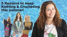 5 Reasons to Keep Knitting and Crocheting this Summer! We love to craft all year long! :D