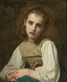 ARTISTIC QUIBBLE — loumargi: Hugues Merle (French, 1823-1881)Young...