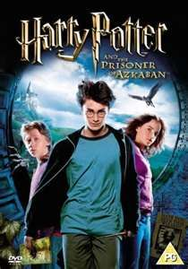 This is the third movie of the Harry Potter series. Ron looks so funny on the cover of this movie! Hahahaha! :)