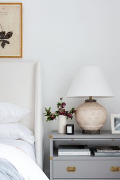 7 Tips for Creating a Peaceful Bedroom Setting Peaceful Bedroom, Simple Interior, Studio Mcgee, Linen Duvet, Sateen Sheets, White Rooms, Bedding Shop, Cozy Bed, Dresser As Nightstand