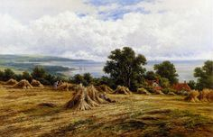View Harvesting By The Sea larger picture - oil paintings,picture frame,oil painting reproduction,discount painting,buy oil painting,painting wholesaler,portrait painting from photo-Oil Paintings And Picture Frames Supplier From China! - TOPART CO., LTD.