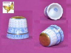 Herend Blue Handpainted Thimble | eBay / Feb 27, 2014 / GBP 43.99