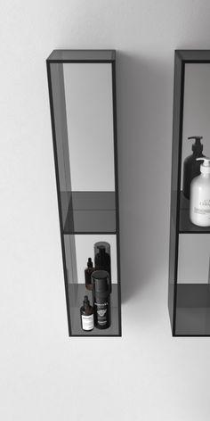 Minimalist Interior, Modern Minimalist, Metal Furniture, Furniture Design, Casa Milano, Bathroom Toilets, Bathroom Medicine Cabinet, Showroom, Hardware