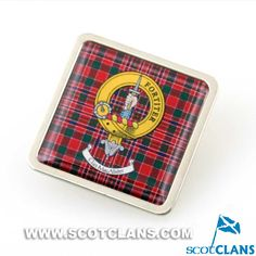 MacAlister Clan Crest Pin Badge
