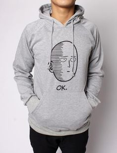 DESCRIPTION Show your love for One Punch Man by wearing this high-quality Saitama hoodie. - Black, Grey and White colors available - Ships to anywhere in the world (about 15-26 days max) - LIMITED Sup