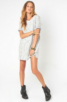 Headache Quilted Tee Dress