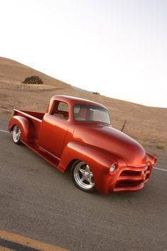 Visit The MACHINE Shop Café... ❤ Best of Trucks @ MACHINE ❤ (1954 Chevy 3100 Pickup Truck)