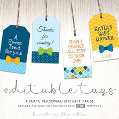 Editable Gift Tags Gift Tag Template Text Editable Chevron