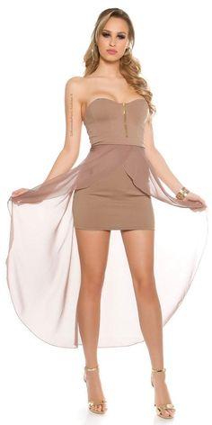 b6c730dda2 Comprar Vestido chic capuchino online Vestidos de fiesta