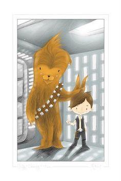 Illustration for a Star Wars Geek