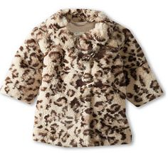 Adorable #cheetah print coat for little girls http://rstyle.me/~1G0hw