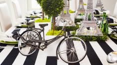 French wines, mini Eiffel Towers, and everything else you need for a fantastic Tour de France Party!