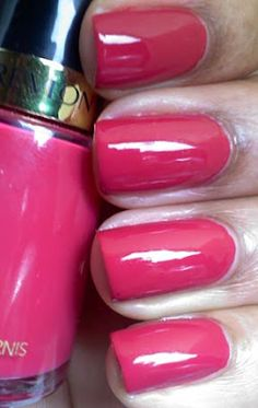 Cherries in the Snow by Revlon This color has been around forever and it's still as beautiful as the day it first came out! Available at drug and discount stores near you and of course you can order it online. I love it! ~Imelda