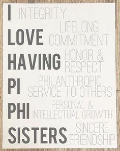 I love having Pi Beta Phi sisters! #piphi #pibetaphi
