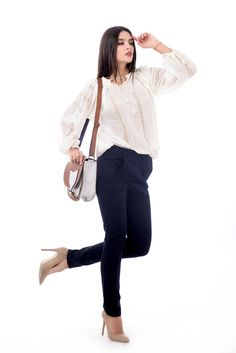Ie romaneasca, 100 % lucrata manual! Embroidery, Collection, Tops, Women, Fashion, Moda, Needlepoint, Women's, Fashion Styles