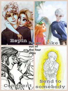 JELSA ALL THE WAY!!! JACK AND RAPUNZEL IS STUPID SO IS ELSA AND HANS!!! JELSA JELSA JELSA!!!