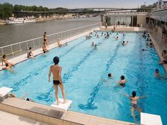 the vintage public pools of paris from life of pi piscine molitor 25 things you absolutely positively have to do in paris covered poolthe life aquaticswimming