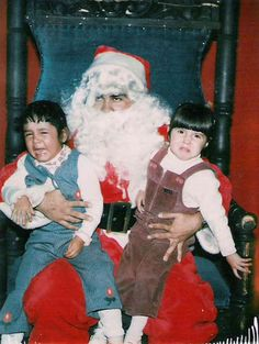 Some Seriously Creepy Santas(17 Pics) - Seriously, For Real?Seriously, For Real?
