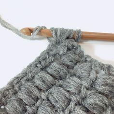 【無料編み図】5時間で編めるポコポコ模様のスヌード/マフラー/毛糸ズキ!