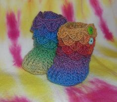 Baby Booties For Year of the Dragon Babies by arcadiastudios, $25.00