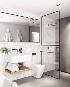 Modern Small Bathroom Design The Basic Components of Modern Bathroom Designs Modern Small Bathroom Design. Incorporating a modern bathroom design will give you a more … Modern Bathroom Design, Bathroom Interior Design, Bathroom Designs, Modern Bathrooms, Modern Sink, Bath Design, Modern Design, Modern Interior, Modern Luxury