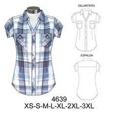 trazo plano blusa - Buscar con Google