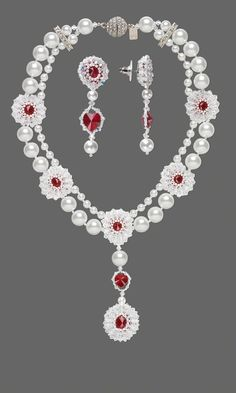 Jewelry Design - Double-Strand Necklace and Earring Set with Swarovski Crystal Beads and Pearls and Seed Beads - Fire Mountain Gems and Beads