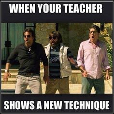 LOL!  So true in Kung-fu!!