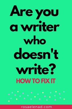 Effective Writing Help: How to Deal with Writer's Block Are you a writer who doesn't write? Check this effective way to overcome writer's block. Memoir Writing, Book Writing Tips, Writing Words, Writing Quotes, Writing Process, Fiction Writing, Writing Help, Writing Skills, Short Story Writing