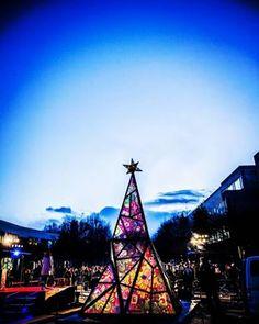 #illumination #stainedglass #hokkaido #sapporo #北海道科学大学 # Christmas tree #クリスマスツリー #イルミネーション #北海道 #札幌 #ステンドグラス